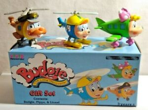 VIVID IMAGINATION DIECAST BUDGIE THE LITTLE HELICOPTER SET BUDGIE PIPPA & LIONEL