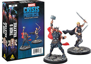 Marvel : Crisis Protocole Thor Et Valkyrie Pack Personnage