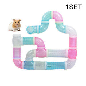 Hamster Tube Set Adventure Playing Toy External Pipe Track Cage Accessories US