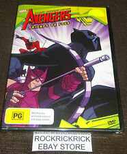 THE AVENGERS - FRIENDS OR FOES DVD (6 EPISODES) (BRAND NEW SEALED)