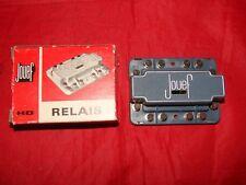 1 RELAIS ELECTROMECANIQUE 9893 HO JOUEF TRAIN ELECTRIQUE BOITE