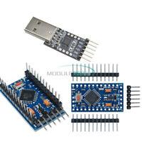 CP2102 USB 2.0 to UART TTL Module+Pro Mini atmega328 3.3V 8M Compatible Arduino