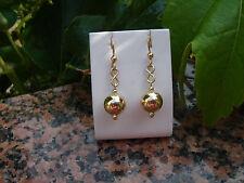 Elegante 585 goldfilled- Ohrringe mit Kugel