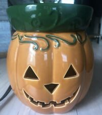 Scentsy Jack O' Lantern Halloween Pumpkin Full Size Warmer New In Box