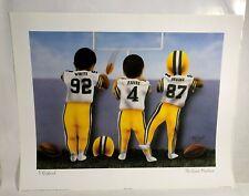Reggie White, Brett Favre, Robert Brooks NFL Football 16 x 20 Baby Print