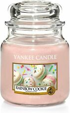 Yankee Candle Medium Jar Rainbow Cookie 411g