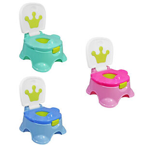 3 In 1 Baby Potty Training Urinal Crown Fun Toddler Toilet Trainer