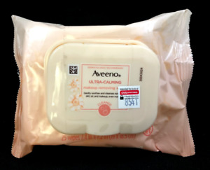 Aveeno Ultra-Calming Makeup Removing Face Wipes 25ct
