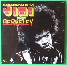 JIMI HENDRIX Musique Du Film Jimi Plays Berkeley LP Vinyl & Cov VG++ 1975 80.555