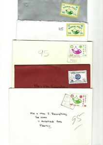GB - VARIOUS UNCHECKED WIRRAL SCOUT POST COVERS X10 FROM COLLECTION BX1/1