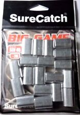 20 X 4.5mm SureCatch Big Game Aluminium Crimps Fishing Sleeves for Mono & Wire