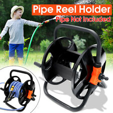Portable Garden Water tube Hose Reel Cart Outdoor Plant Holder Storage