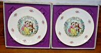 2 Royal Doulton Bone China 1979 Valentine's Day Plates
