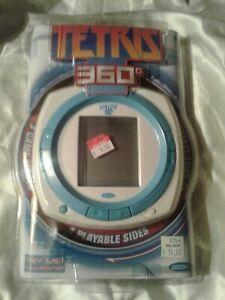 Tetris 360 handheld 3 games in 1 by Radica: