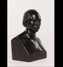 Bust of the poet François Ponsard 1869 ADAM-SALOMON Grey frères founder at