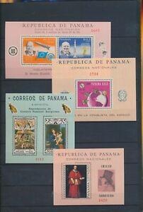 XC89145 Panama religious art satellite rocket sheets XXL MNH