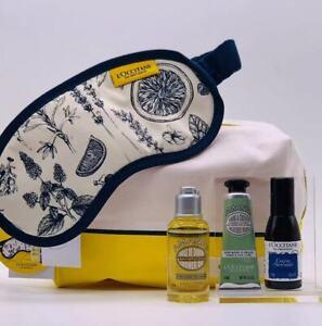 L'Occitane Mum's Favourite Gift Bag Almond ShowerOil HandCream SleepingMask Mist