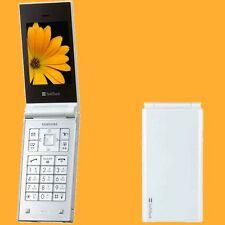 Samsung SoftBank 740SC SGH-V740 White 2MP Simple SimFree 2G 3G Flip Mobile Phone