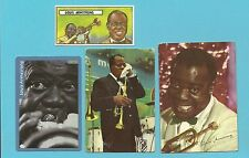 Louis Armstrong Fab Card Collection Satchmo Pops American jazz trumpeter singer