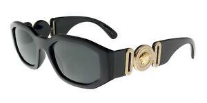 Versace Unisex black Sunglasses 0VE4361 GB1/87 53mm