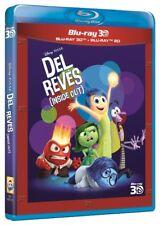 Del Revés Bluray Disney Pixar Sólo disco 2D