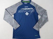 Reebok Team Player Issued Toronto Maple Leafs NHL Pro Stock Hockey Shirt L Gitch