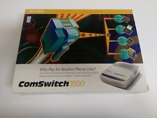 Command Communications Comswitch 3500 Phone Fax Modem Line Sharing Manager NIB!