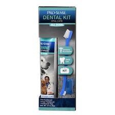 Pro-Sense Dental Kit Dog Oral Care Toothpaste Toothbrush Fingerbrush Cat Teeth
