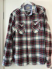 Teddy Smith Mens Check Shirt Size XXL Excellent Condition