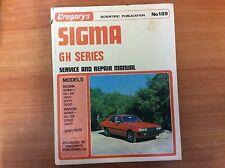 Gregory's Sigma - GH Series Service & Repair Manual No189 - 1980/1982
