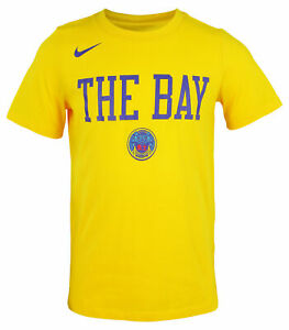 Nike NBA Youth (8-20) Golden State Warriors City Edition Dry Fit Tee