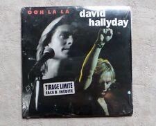 """S DISQUE VINYLE 45T SP / DAVID HALLYDAY """"OoH LA LA"""" 1991 NEUF POP ROCK"""