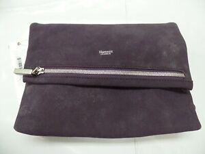 Hammitt Clutch VIP Grape Purple Leather Cross Body Bag/Purse