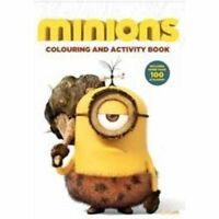 Minions: Colouring and Activity Book (Minions Movie) by Centum Books, Good Used