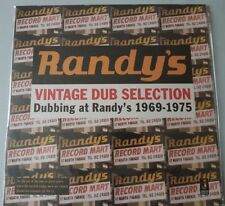 RANDY'S VINTAGE DUB SELECTION DUBBING AT RANDY'S 1969-1975 LP vinyl New sealed
