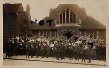 WW1 wounded Soldier group Regimental Band Volunteer Force Auxiliary Hospital