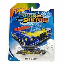 Hot Wheels 2019 Color Shifters Changing - Fish'D & Chip'D BHR31
