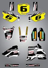 Full  Custom Graphic  Kit -SAFARI STYLE - HONDA CR 80 1996 / 2002 - stickers