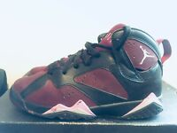 2015 Youth Nike Air Jordan VII 7 Mulberry Fuchsia Black Size 5Y Used Rare NDS