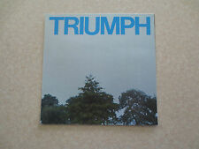 Original 1970s Triumph TR6 & Spitfire 1500 Sports cars advertising brochure