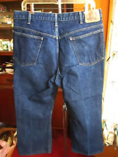 36x26 Fit True Vtg 80s Jc Penney Plain Pockets Classic Flare Flare Jeans