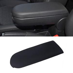 Black For VW Jetta Golf MK4 Beetle Cloth Console Center Armrest Cover Lid