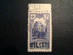 Turkey/Ottoman Emp Cilicien 1919 stamp Overprint 6 Pa/3 Michel Used Very Rare HV