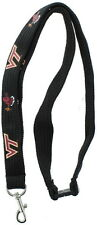 New! Virginia Tech Hokies Safety Clip Lanyard NCAA Key ID Badge Holder