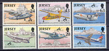 Flugzeuge - Jersey - 777-782 ** MNH 1997