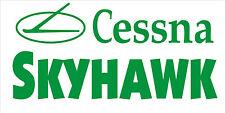 A205 Cessna Skyhawk Airplane banner hangar garage decor Aircraft signs