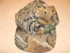 Ducks Unlimited Ball Cap. Snap Back Cap