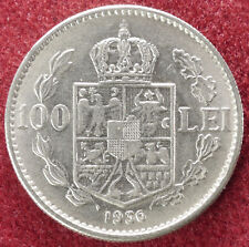 Rumanía 100 Lei 1936 (D2408)