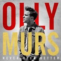 OLLY MURS - Never Been Better (Audio CD) - NEW & SEALED