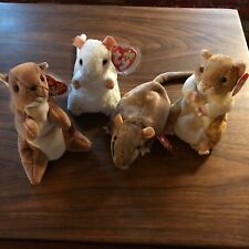 New listing Beanie Baby rodent pals bundle